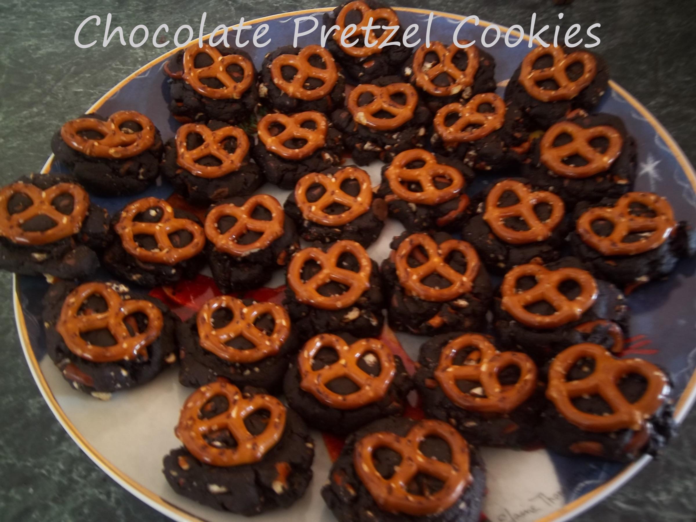 Chocolate Pretzel Cookies | Gluten Free Fabulous
